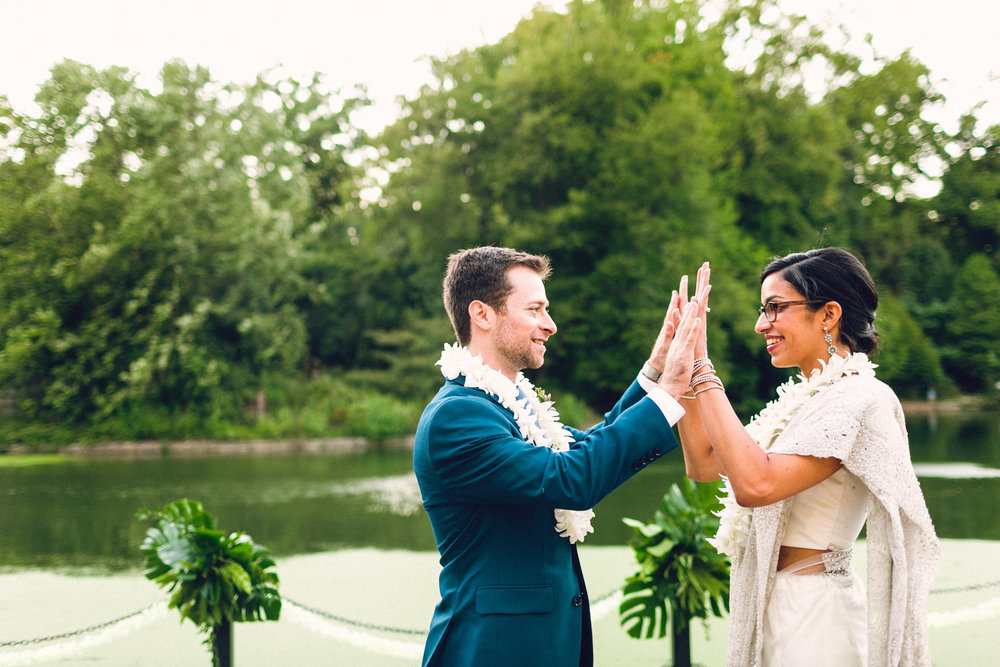 LAYLAH + DAVID - Prospect Park Boathouse