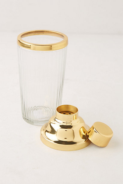 Cocktail shaker, $30 Anthropologie