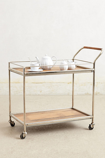 Bar cart, $498 Anthropologie