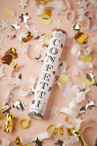 Confetti popper, $12 Bhldn.com