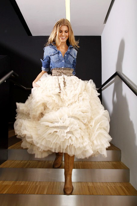 Tulle gone country!