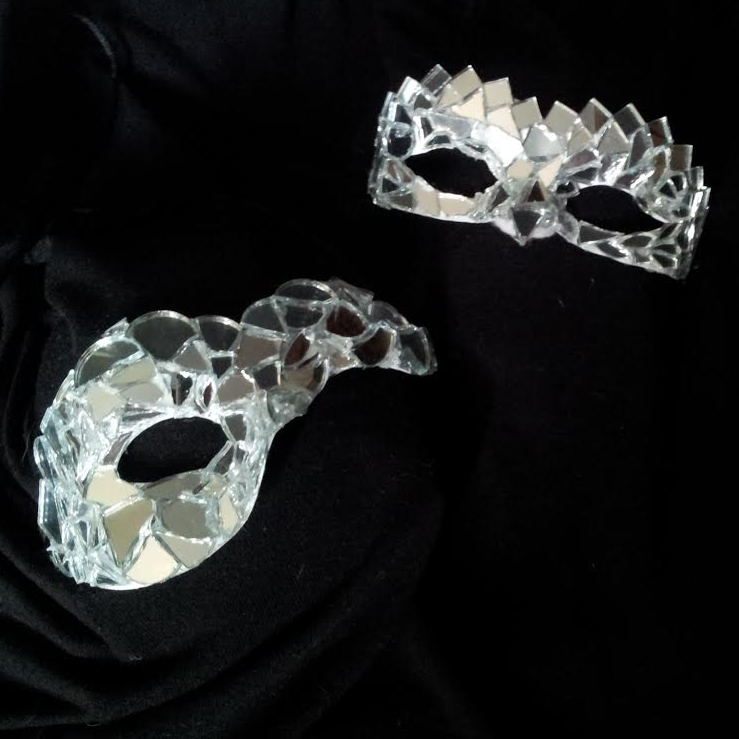 Up close pic of the masks.