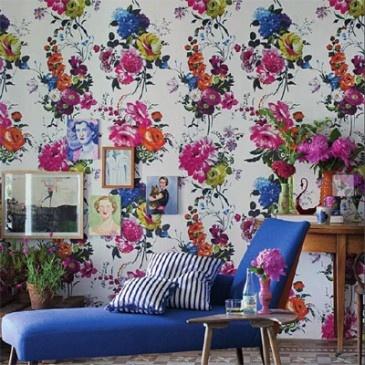 Amrapali Wallpaper @ Designersguild.com