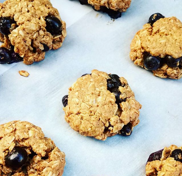 Almond Butter Blueberry Cookie