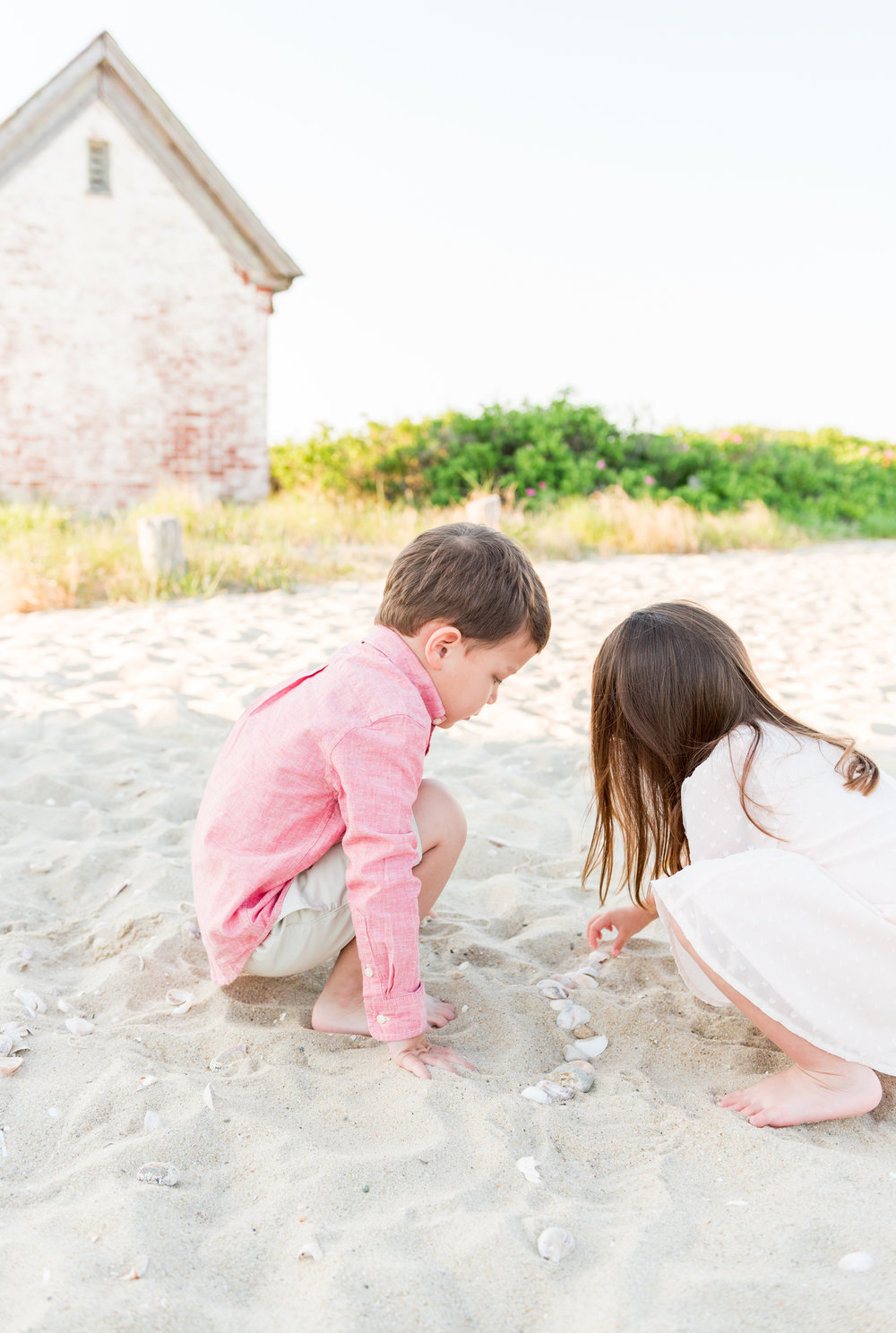 Nantucket Brant Point Lighthouse Family Session