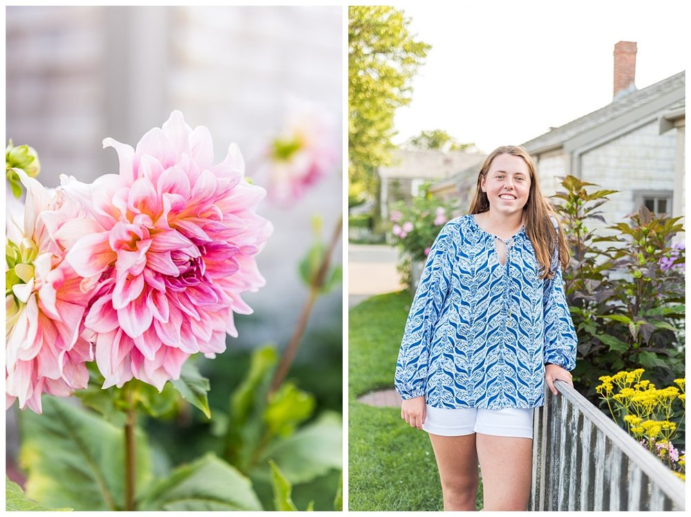 nantucket senior portrait