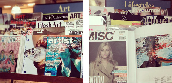 Professional Artists Magazine: Cover artist + MISC Magazine insert, 2012