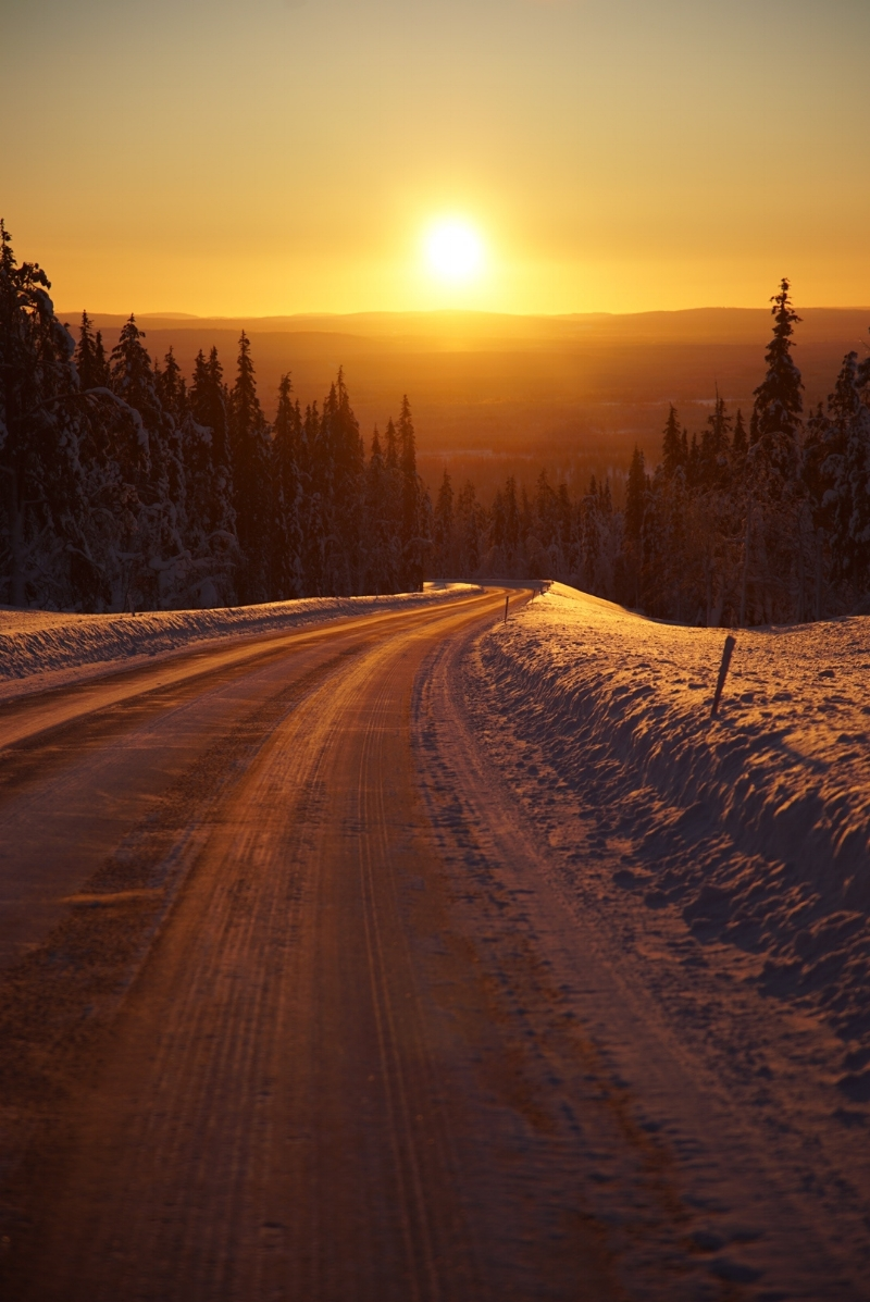 Driving in Lapland is an amazing expereince