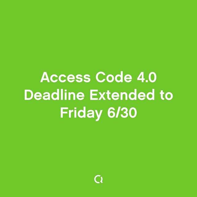 📢 Spread the word—we've extended our deadline for #AccessCode applications! 🙇🏾‍♀️ 🙇🏽 Tag friends whom might benefit from this program! ➡️ Apply by June 30th, link in bio