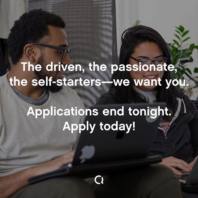 Today is the final day to apply for #AccessCode! To make the cut, apply tonight! Link in bio.  We are looking for driven, passionate, and self-starting individuals. Our success comes from our students' success and we fully support the talent that comes into our programs. If you're looking for a career change, apply for Access Code today.