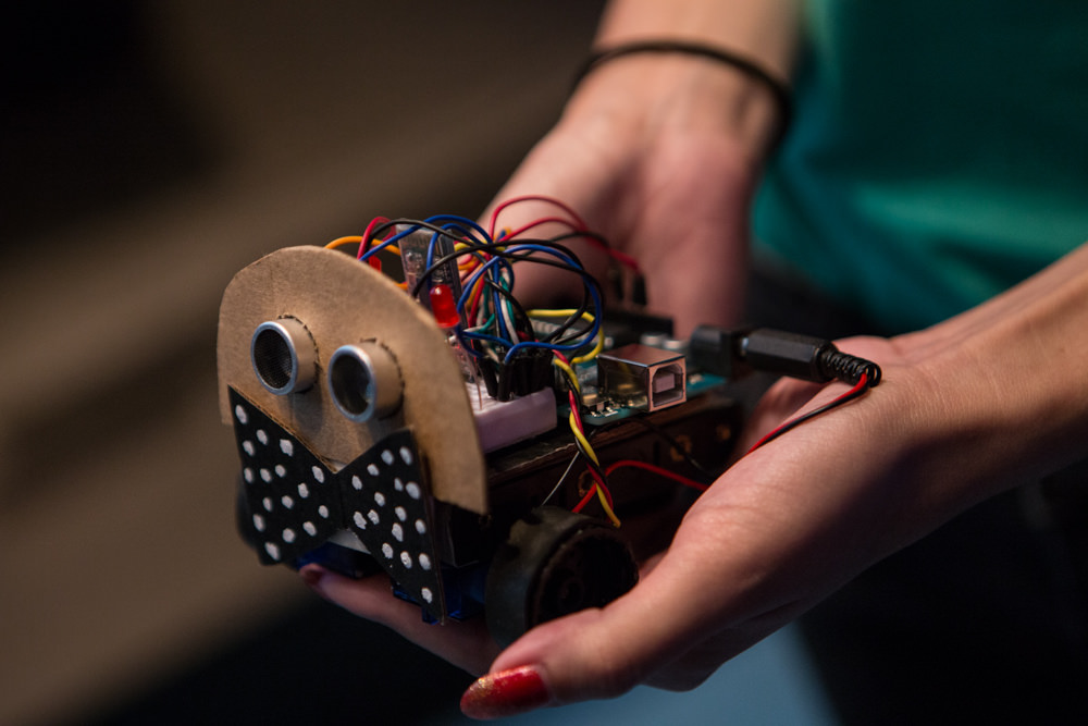 Hardware innovation for underrepresented makers     Get involved!