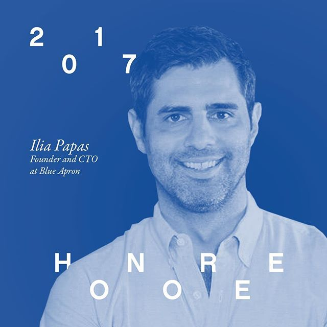 Come out to #C4QTechBash on 10/18 and help us celebrate our third honoree Ilia Papas, founder and CTO at @BlueApron! Support our work by purchasing tickets ➡️ link in bio! ✌🏽