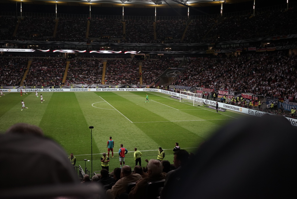 Germany vs Poland, Frankfurt 2015 //  © IKARUS
