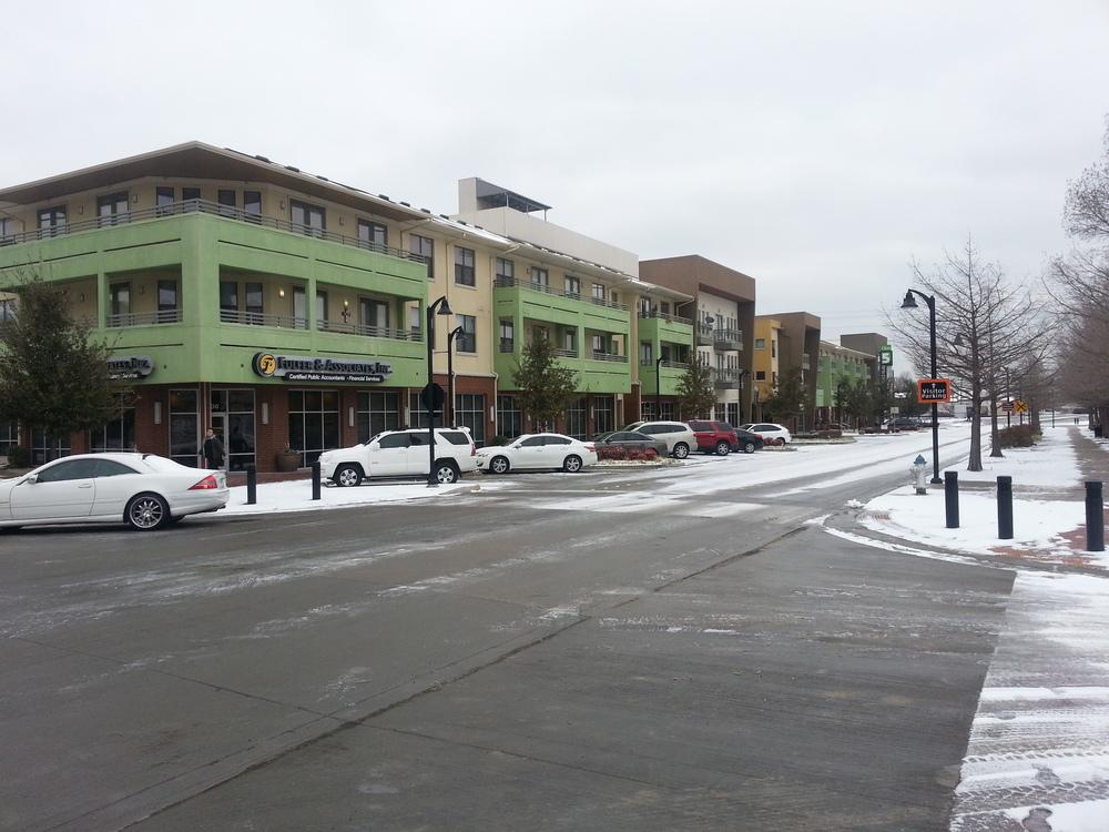 Fifth Street Crossing development in Garland, TX