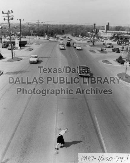 Garland Road: 1957 (Courtesy of Dallas Public Library Texas/Dallas History Division)