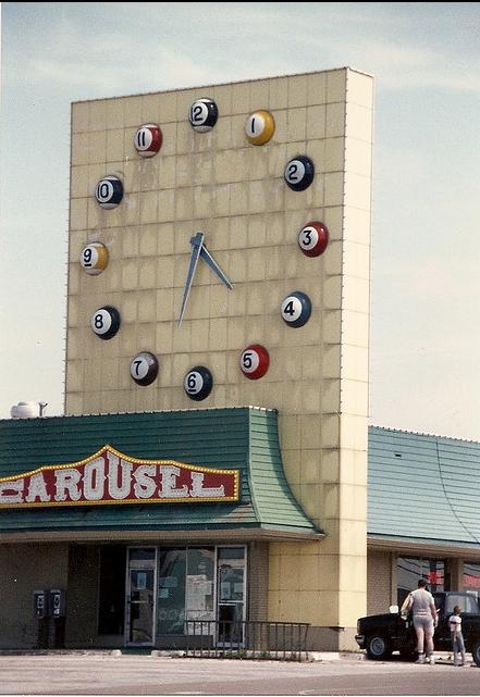 Carousel at Lochwood Village Shopping Center ( Red Oak Kid )