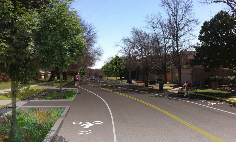 Residential Street Retrofit Concept
