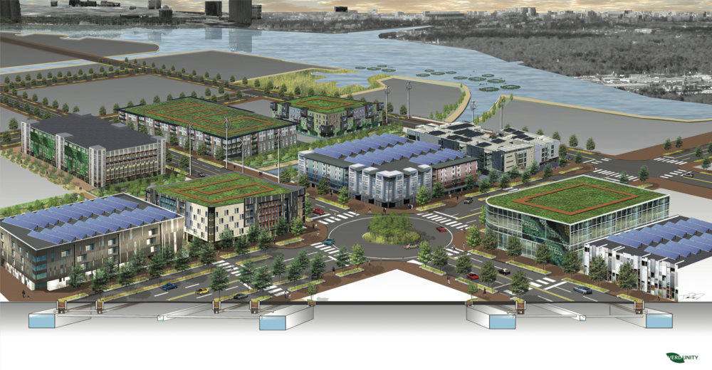 Panther Island Green Infrastructure Implementation Concept