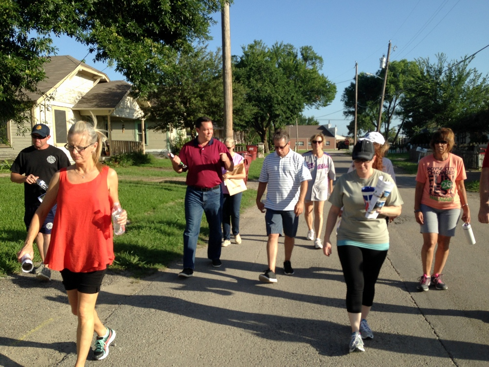Royse City Wood Street Walking Tour