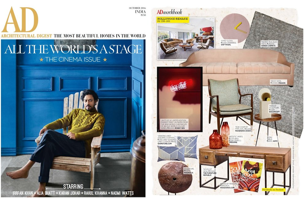 ARCHITECTURAL DIGEST 0CT 2016