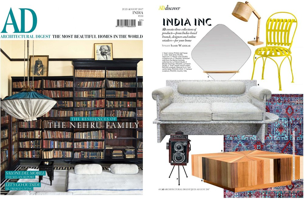 ARCHITECTURAL DIGEST JULY AUGUST 2017