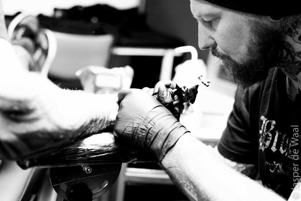 Mountain zoo tattoo