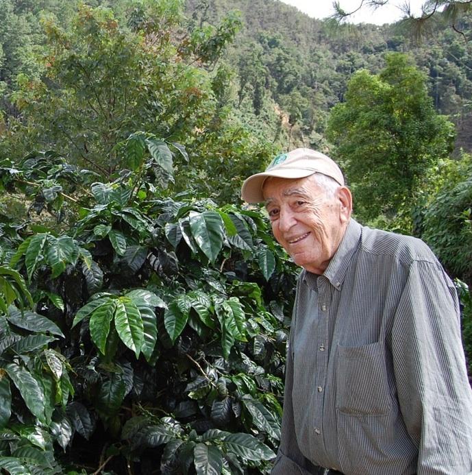 Don Rene at Finca Los Congos
