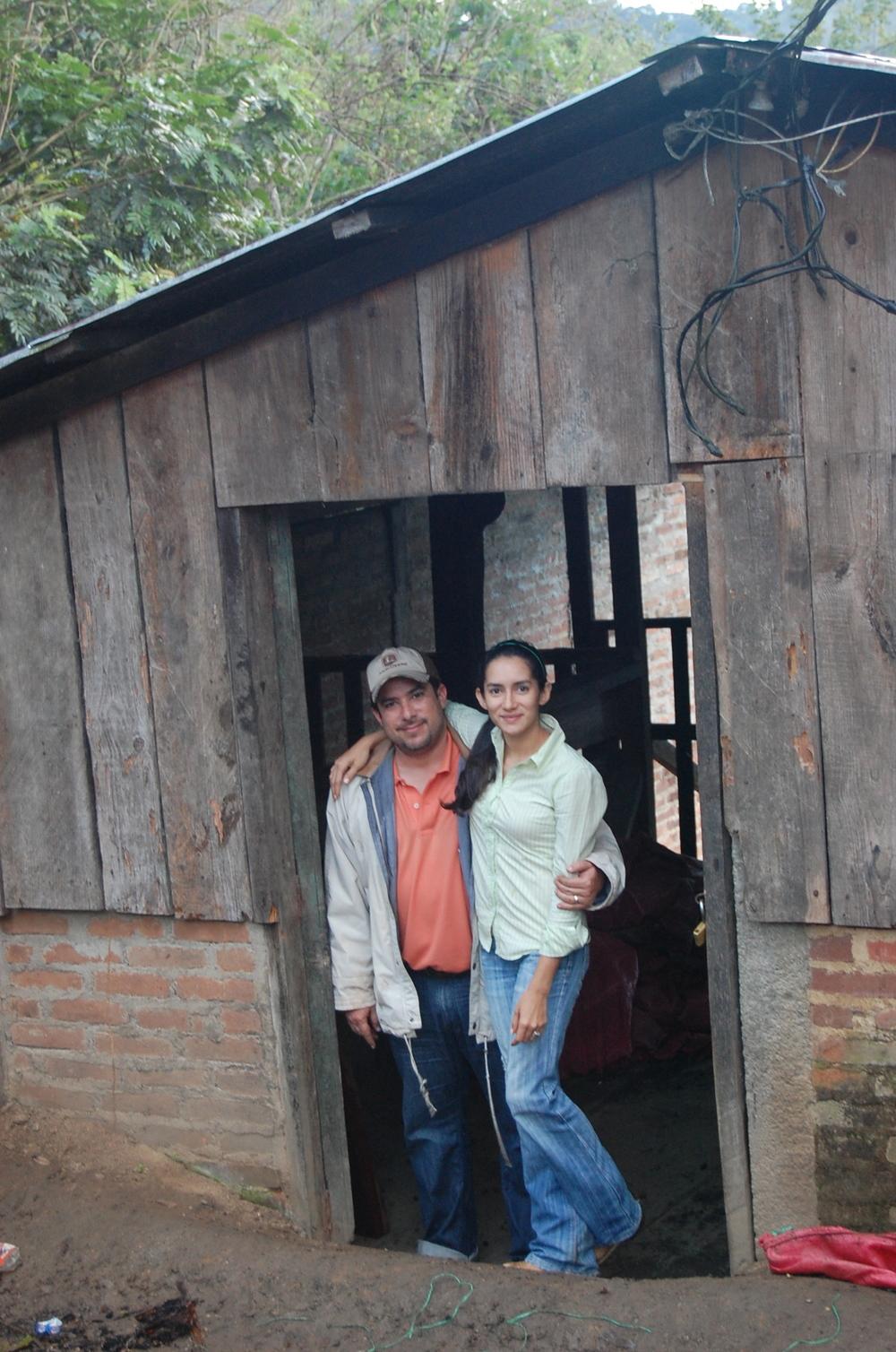 Rene and Alma at Hacienda La Iguana