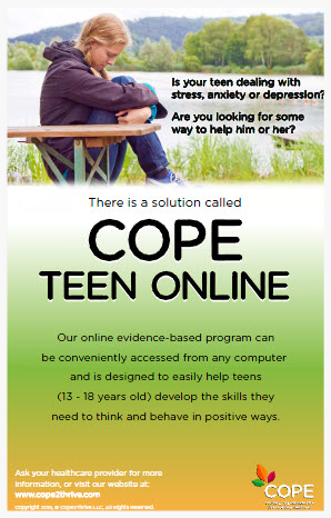 POSTER 4 - TEEN ONLINE PROGRAM