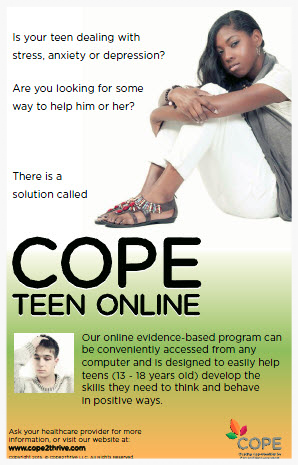 POSTER 5 - TEEN ONLINE PROGRAM