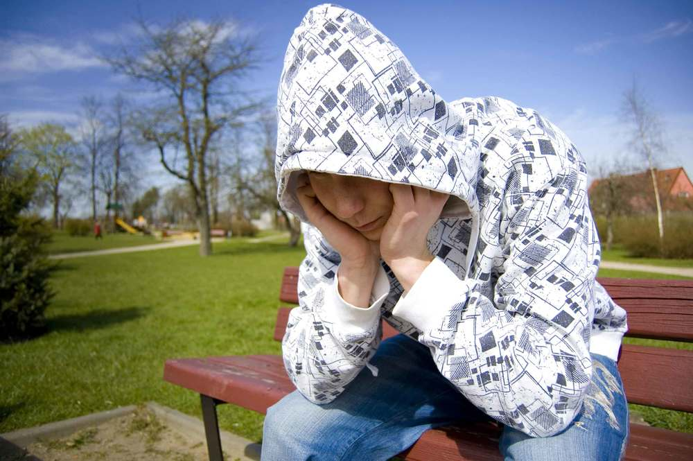 Teens learn coping skills