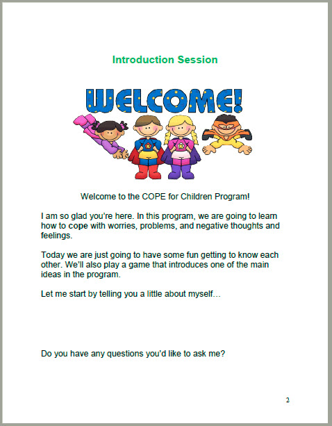 7-Session Children Student Manual