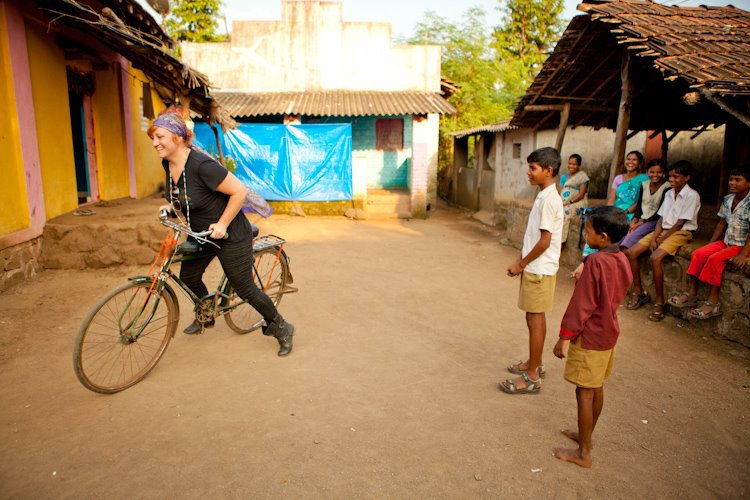 Sidetracked in Bombay, India.  Photo by Natalie Reagan
