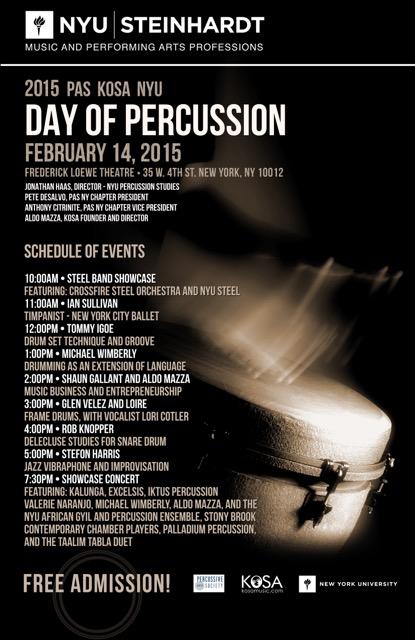 NYU Percussion