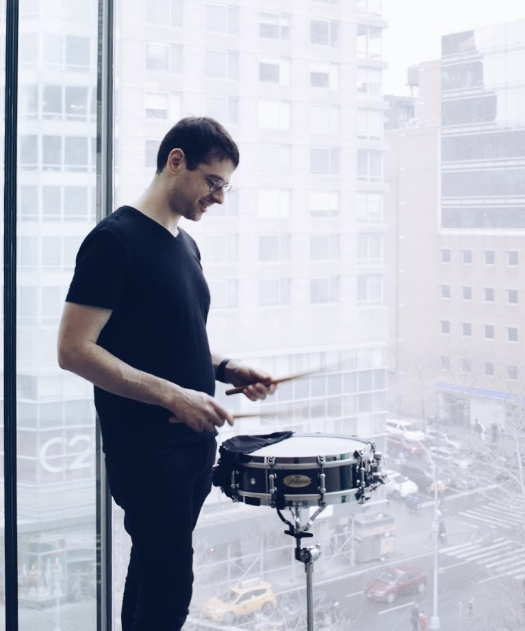 Snare drum smile, window 2018.JPG