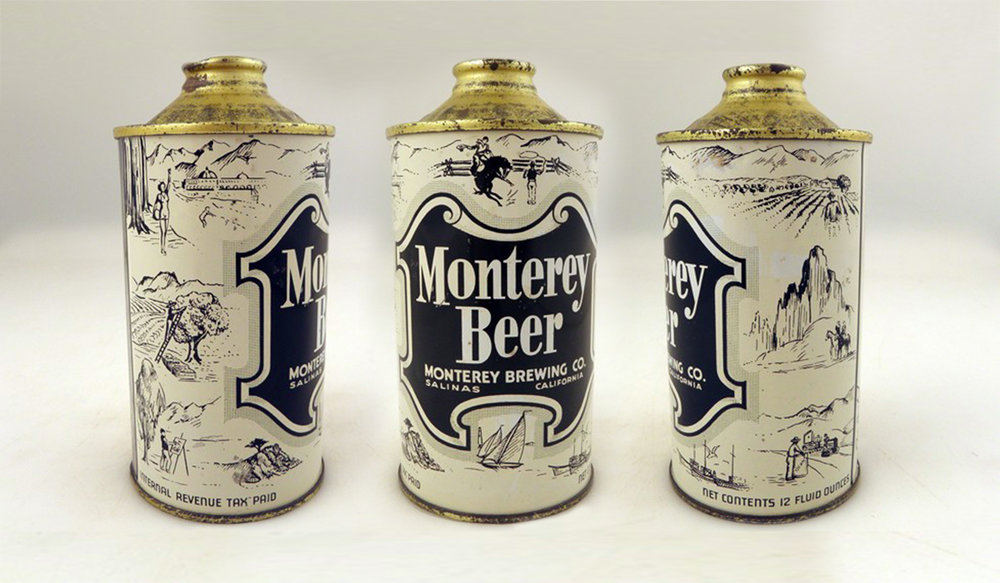Original Packaging from 1940's Monterey Brewing Co.
