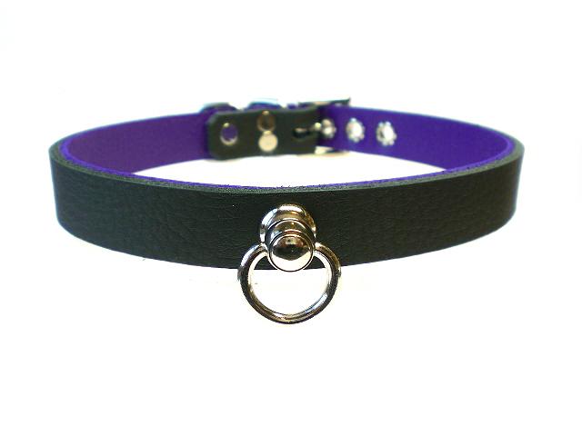 black w/purple inlay