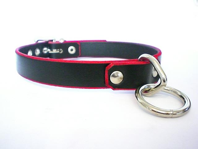 black w/red edges