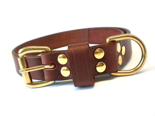 brown bridle - leather keeper