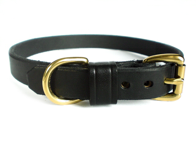 black bridle - leather keeper