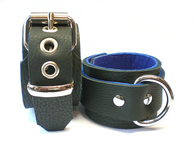 soft black w/blue inlay