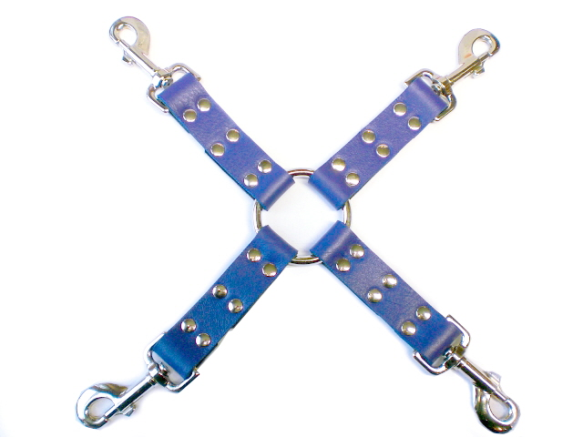 royal blue hog-tie
