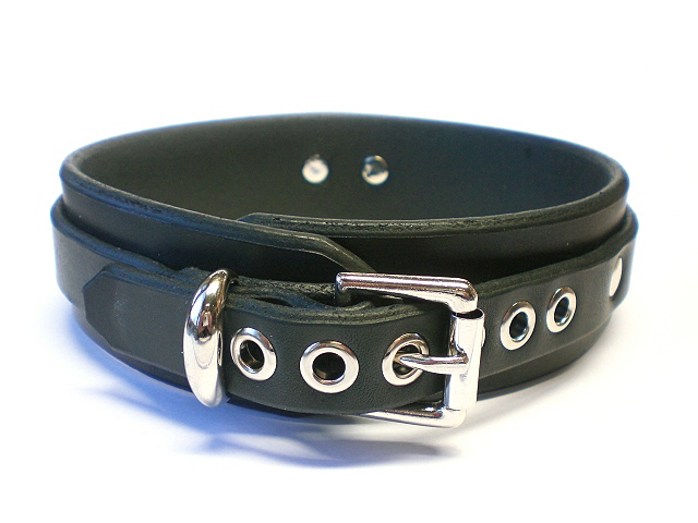standard buckle - black bridle leather