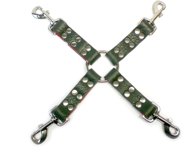 hog-tie connector