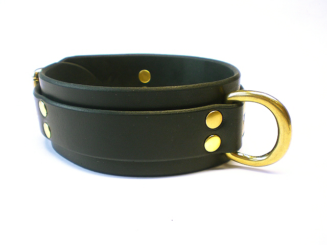 black bridle - double rivets