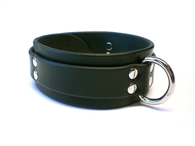 Leather Bondage Collars