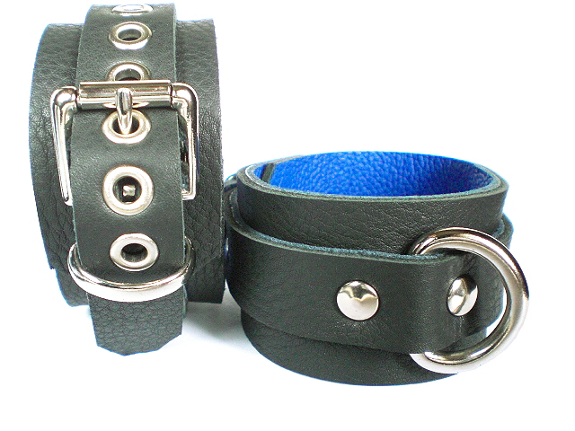 black w/blue inlay