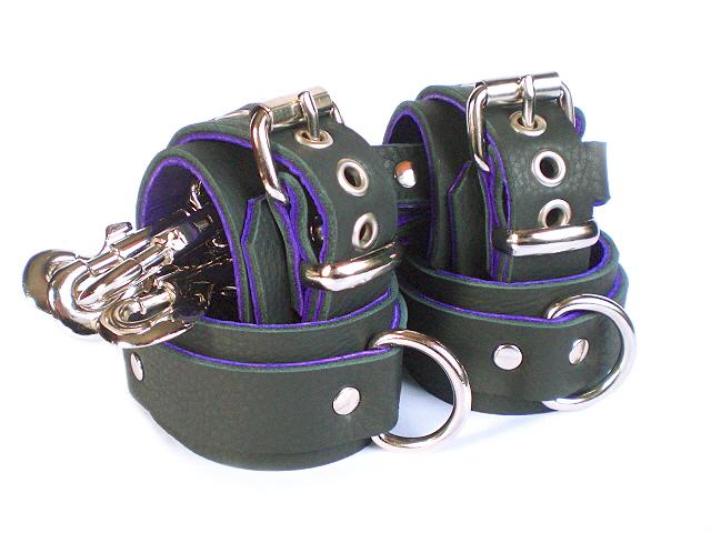 soft black w/purple napa