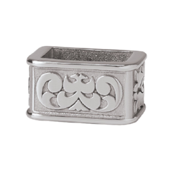 Horseshoe Brand engraved keeper
