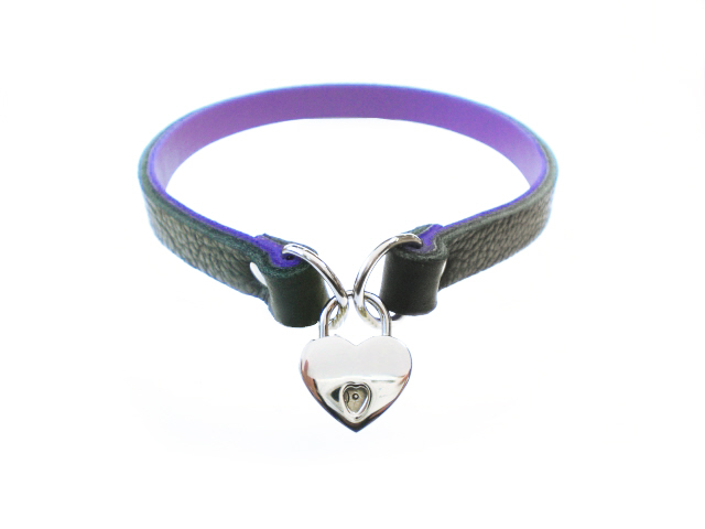 black w/purple inlay